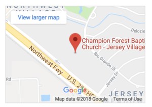 Picture of Map Jersey Village Campus